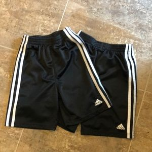 2 Pairs Of Adidas Shorts- Boys Size 6